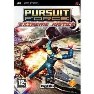 JEU PSP PURSUIT FORCE EXTREME JUSTICE / JEU CONSOLE PSP