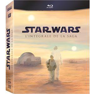 BLU-RAY FILM Coffret Blu-Ray Star Wars l'intégrale - 9 Blu-Ray