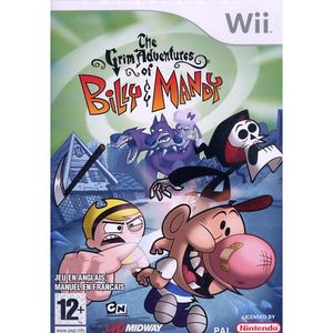 JEUX WII THE GRIM ADVENTURES OF BILLY & MANDY / JEU CONSOLE