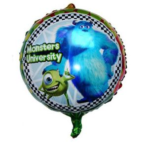 ballon helium monstre violet