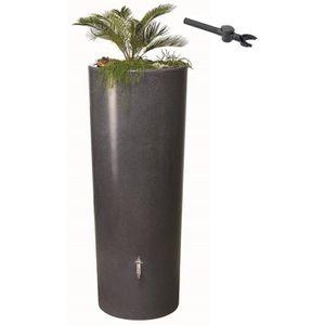 Récupérateur d'eau et bac à plantes Stone 350 L...
