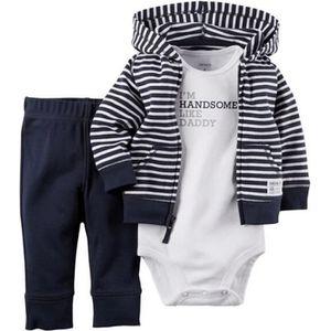 Ensemble de vêtements Carters de bébé garçon fille vêtements bébé Set ma
