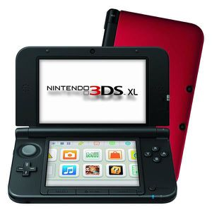 CONSOLE 3DS Console 3ds XL rouge + le jeu Donkey Kong Country