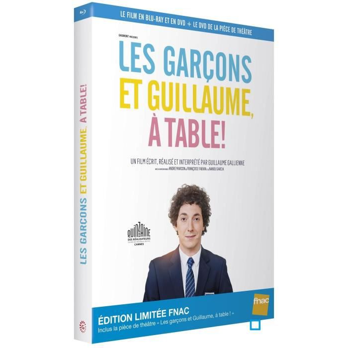 Les garcons et guillaume a table blu ray en blu ray film - Les garcons et guillaume a table online ...