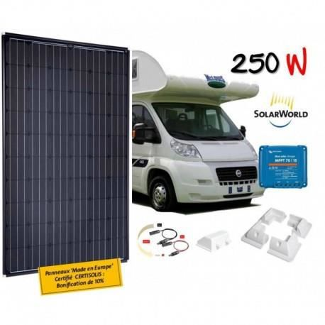 kit solaire camping car 250 w solarworld achat vente kit photovoltaique cdiscount. Black Bedroom Furniture Sets. Home Design Ideas