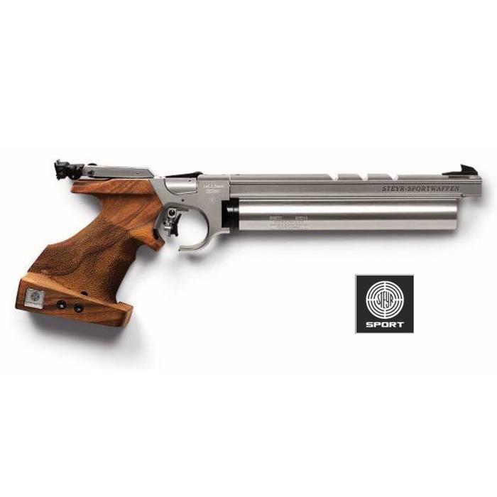 steyr lp10 silver air pistol plombs cal 4 5 177 prix pas cher cdiscount. Black Bedroom Furniture Sets. Home Design Ideas
