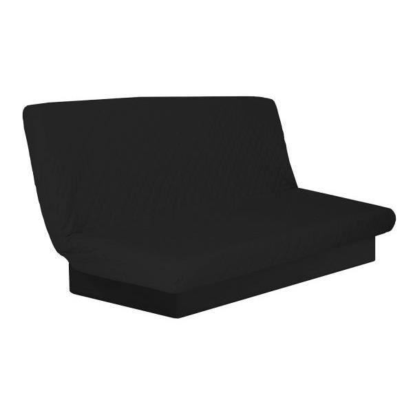 housse de clic clac matelassee unie nelson band achat vente housse de canap cdiscount. Black Bedroom Furniture Sets. Home Design Ideas