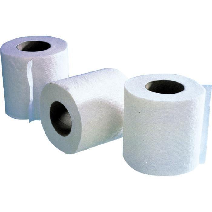 papier toilette 10 paquets de 4 rouleaux achat vente papier toilette papier toilette 10. Black Bedroom Furniture Sets. Home Design Ideas
