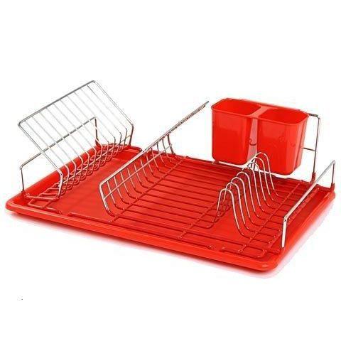 egouttoir vaisselle rouge achat vente egouttoir couverts egouttoir vaisselle rouge. Black Bedroom Furniture Sets. Home Design Ideas