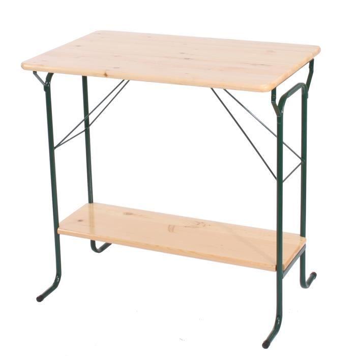 table haute de bar vienne pr brasserie pliable pin massif achat vente mange debout. Black Bedroom Furniture Sets. Home Design Ideas