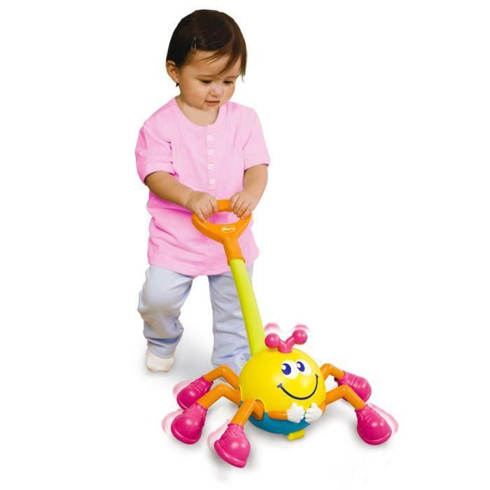 jouet pousser pousseur araign e musical achat vente jouet tirer cdiscount. Black Bedroom Furniture Sets. Home Design Ideas