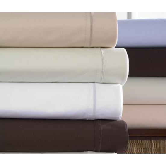 satin 110 fils couleur taie d oreiller rectangulaire 50x70 naturel achat vente taie d. Black Bedroom Furniture Sets. Home Design Ideas