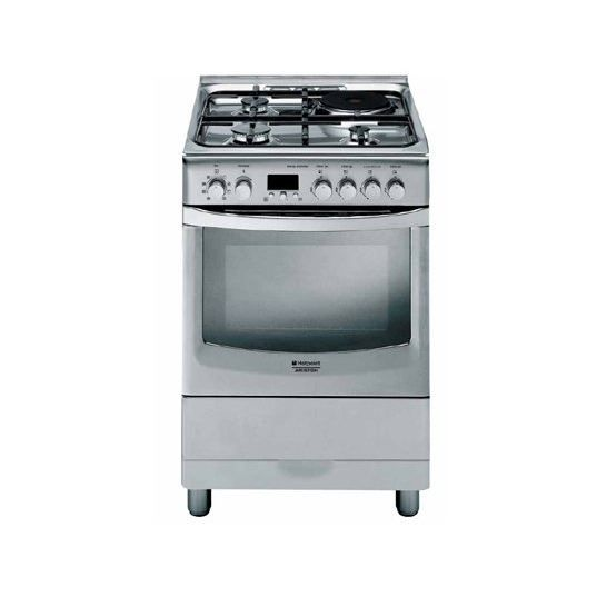 Cuisini re mixte cx61sfaxfha hotpointt ariston achat for Meilleure cuisiniere a induction