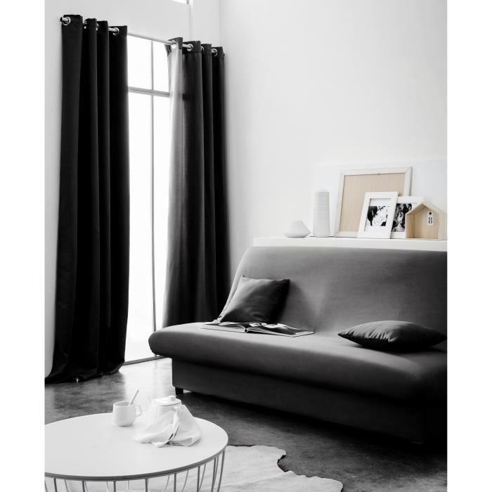 today housse de clic clac 135x195 r glisse achat vente housse de canape cdiscount. Black Bedroom Furniture Sets. Home Design Ideas