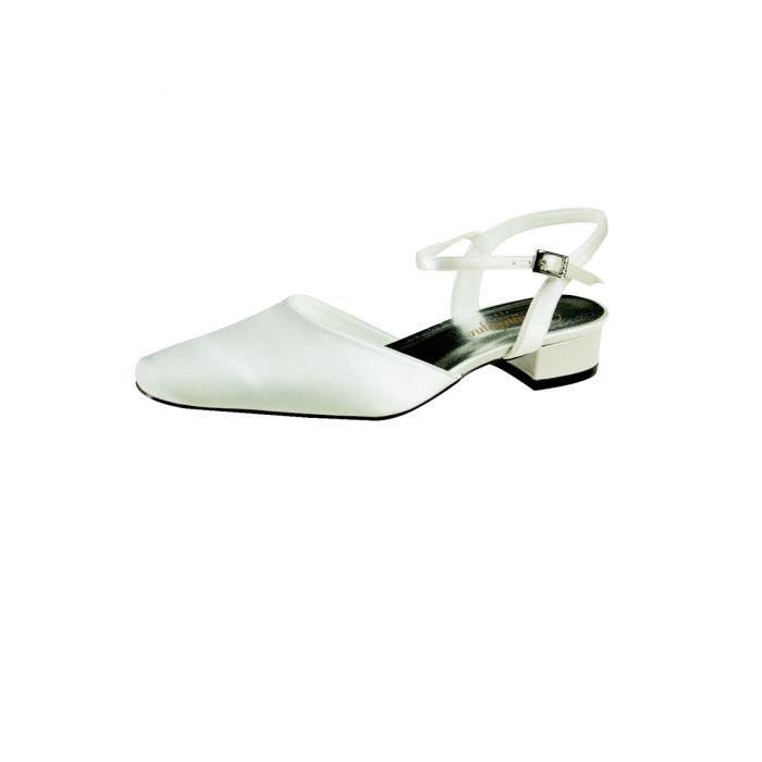 chaussure femme petit talon ivoire semi ivoire achat vente escarpin cdiscount. Black Bedroom Furniture Sets. Home Design Ideas