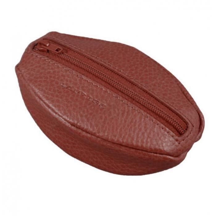 Porte monnaie caf cuir rouge bordeaux marron achat vente porte monnaie 3700839779142 for Achat porte interieur bordeaux