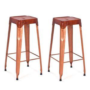 tabouret de bar 75 cm achat vente tabouret de bar 75 cm pas cher cdiscount. Black Bedroom Furniture Sets. Home Design Ideas