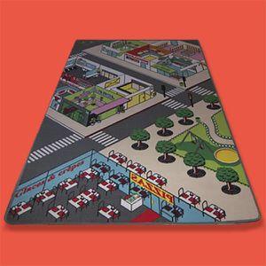 tapis de jeu route enfants achat vente jeux et jouets. Black Bedroom Furniture Sets. Home Design Ideas