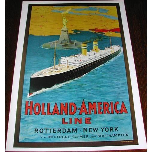 Rotterdam new york achat vente affiche cdiscount - Achat maison new york ...