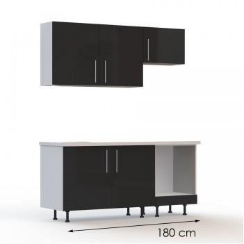 pack eb ne 2 pack 1 plan de travail largeur achat vente cuisine compl te pack complet. Black Bedroom Furniture Sets. Home Design Ideas