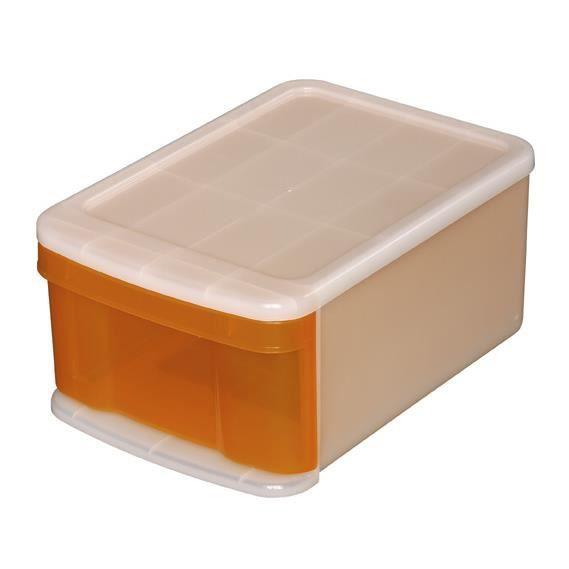 boite de rangement tiroir 20 litre boite tiroir rangement tours de rangement 1 tiroirs. Black Bedroom Furniture Sets. Home Design Ideas