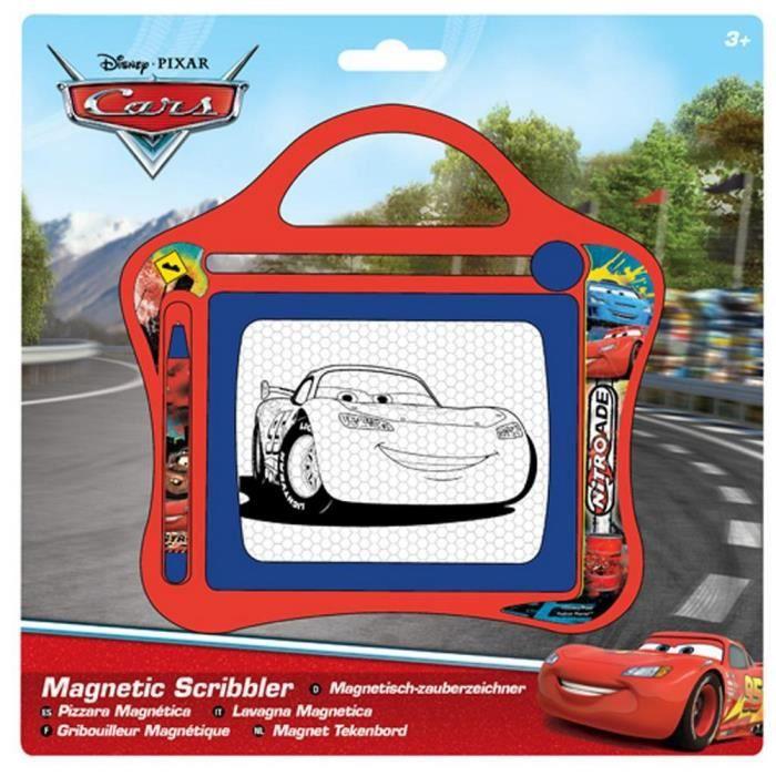 Ardoise Magique Magnetique Cars Avec Stylo Achat Vente