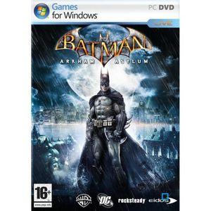 JEU PC BATMAN ARKHAM ASYLUM / JEU PC DVD-ROM