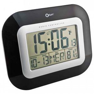 Horloge radio pilotee achat vente horloge radio pilotee pas cher soldes cdiscount - Horloge orium led bleue ...