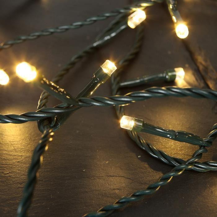 Guirlande lumineuse ext rieure no l 200led achat vente - Etoile lumineuse exterieure noel ...