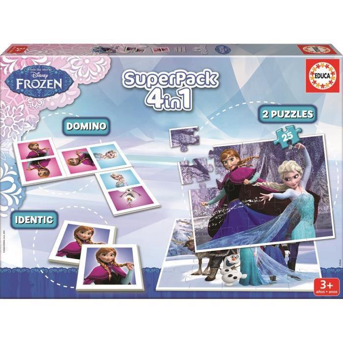 La reine des neiges superpack jeux ducatifs achat vente mallette multi jeux cdiscount - Jeux gratuit la reine des neige ...