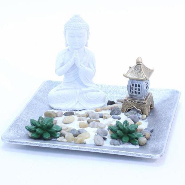 Jardin zen avec bouddha achat vente jardin japonais zen cdiscount for Decoration jardin bouddha