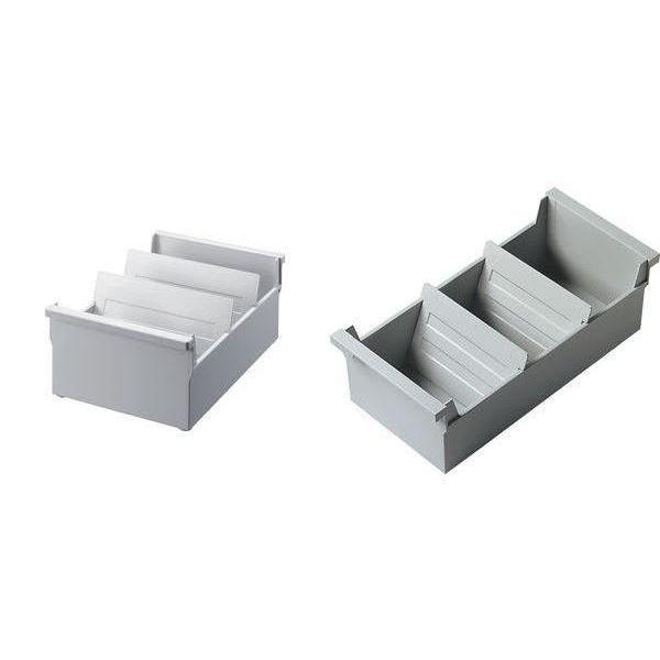 bac fichier a5 l 39 italienne gris clair non achat vente porte courrier bac bac. Black Bedroom Furniture Sets. Home Design Ideas