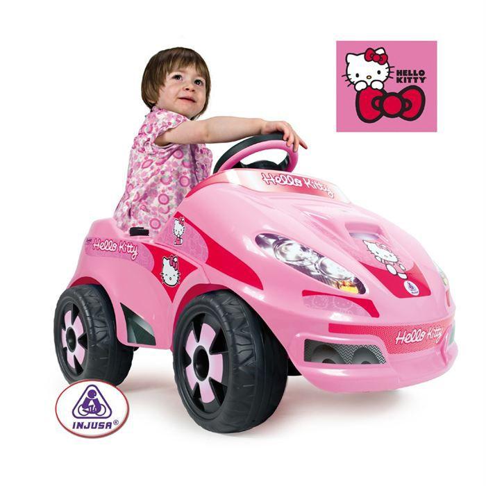 hello kitty voiture 6v achat vente voiture enfant. Black Bedroom Furniture Sets. Home Design Ideas