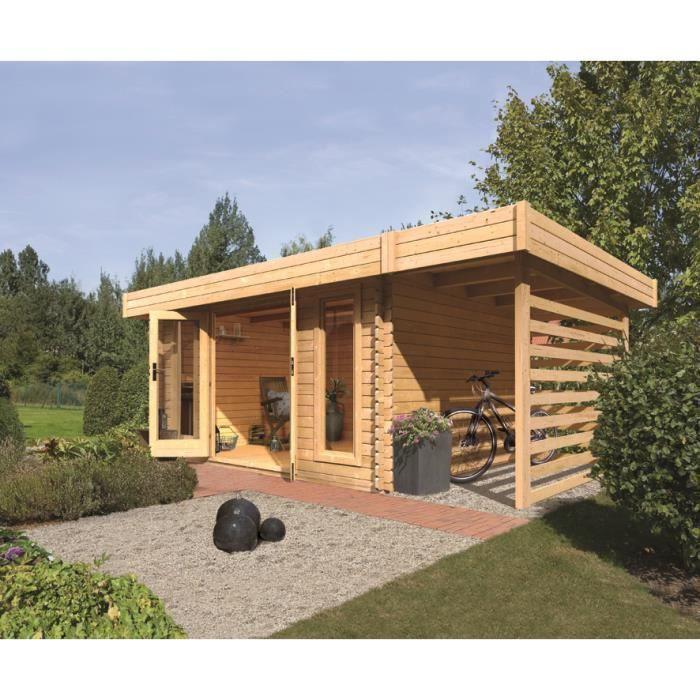 Chalet en bois de jardin for Chalet de jardin belgique