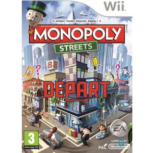 JEUX WII MONOPOLY STREETS / Jeu console Wii
