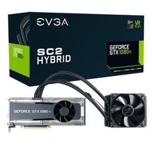 CARTE GRAPHIQUE INTERNE EVGA GeForce GTX 1080 Ti SC2 Hybrid Gaming iCX, 11