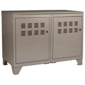 meuble de rangement metal deux portes achat vente meuble de rangement metal deux portes pas. Black Bedroom Furniture Sets. Home Design Ideas