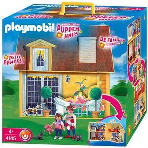 UNIVERS MINIATURE Playmobil Maison Transportable