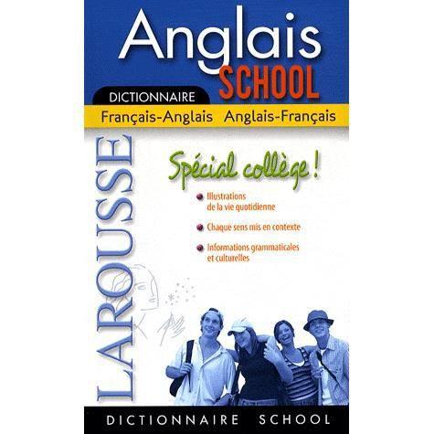 Anglais school sp cial coll ge achat vente livre lola - Vocabulaire anglais vente pret a porter ...