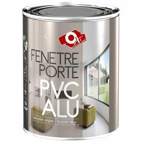 Peinture fen tres portes pvc effet sabl 1 5 achat for Peinture fenetre aluminium