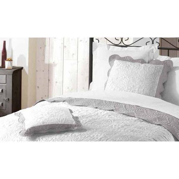 housse de coussin 60x60 accra gris blanc achat vente. Black Bedroom Furniture Sets. Home Design Ideas