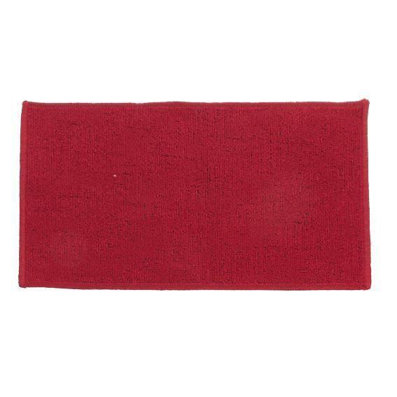 tapis anti d rapant 60 cm uni rouge achat vente. Black Bedroom Furniture Sets. Home Design Ideas