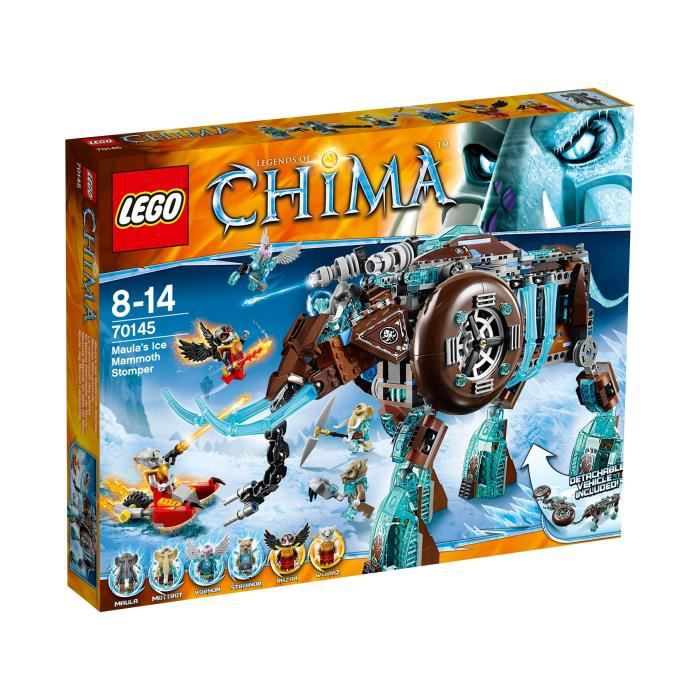 lego chima 70145 le mammouth des glaces achat vente assemblage construction cdiscount. Black Bedroom Furniture Sets. Home Design Ideas