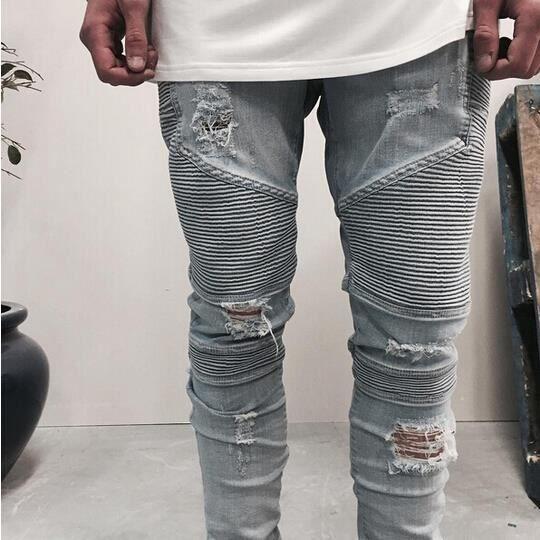 lidodo homme bikerjeans pantalon jeans trou ble bleu clair achat vente jeans cdiscount. Black Bedroom Furniture Sets. Home Design Ideas