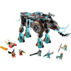 LEGO Chima 70145 Le mammouth des glaces