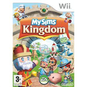 JEUX WII MY SIMS KINGDOM / JEU CONSOLE NINTENDO Wii