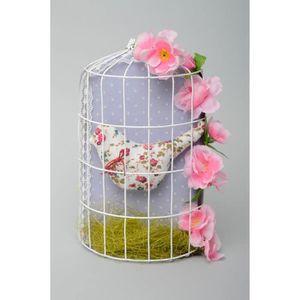 suspension d corative murale en tissu oiseau dans achat. Black Bedroom Furniture Sets. Home Design Ideas