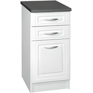 meuble bas de cuisine avec tiroir achat vente meuble bas de cuisine avec tiroir pas cher. Black Bedroom Furniture Sets. Home Design Ideas