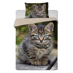parure de lit animaux achat vente parure de lit animaux pas cher cdiscount. Black Bedroom Furniture Sets. Home Design Ideas