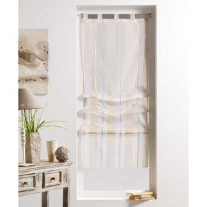 rideaux passe tringle achat vente rideaux passe tringle pas cher cdiscount. Black Bedroom Furniture Sets. Home Design Ideas